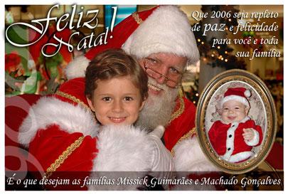 Feliz natal pra todos, feliz natal!